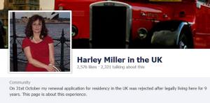 Harley Miller in the UK