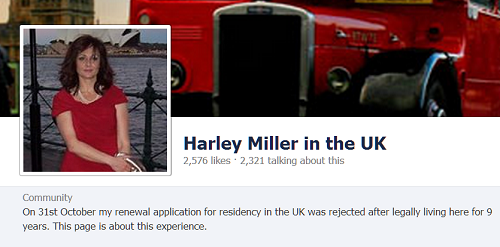 Harley Miller in the UK