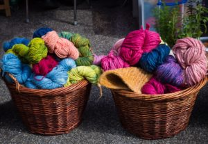 yarn and wool for knitting