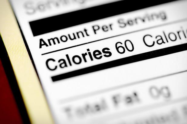 calories label